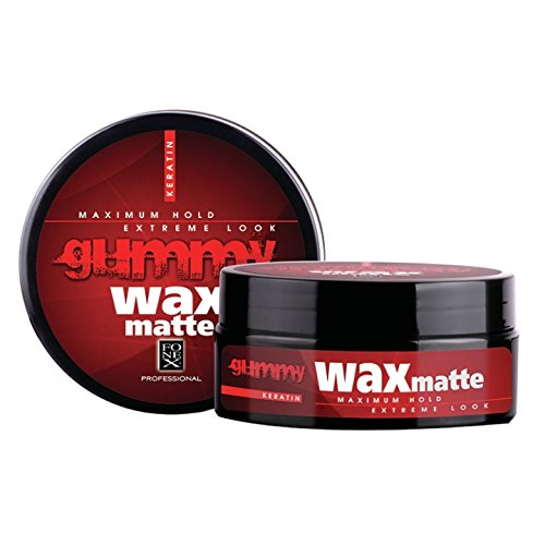 Fonex Gummy Matte Wax Red 140ml
