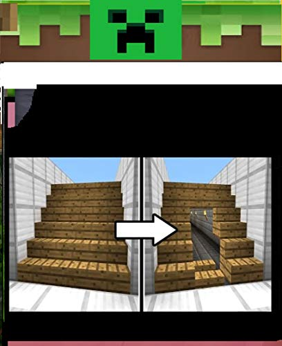 How to Make a Secret Staircase in Minecraft (English Edition)