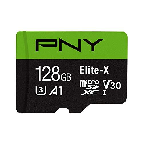 PNY Elite-X Micro SD  128GB Schwarz, Grün
