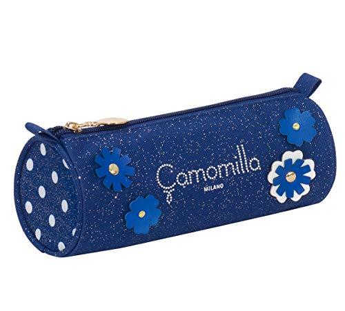 Portapenne Tombolotto Camomilla, Blu, Scuola