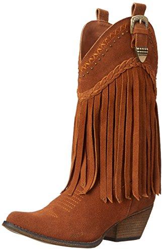 Very Volatile Women's Pasa Western Boot, Tan, 7 B US