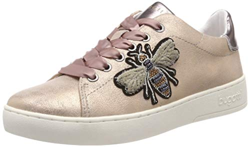 bugatti Damen 432291085950 Sneaker, Mehrfarbig (Rose/Metallic 3490), 39 EU