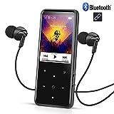 AGPTEK Grand Ecran 16Go Mp3 Bluetooth 4.0 C2S, Corps Miroir avec Ecran HD DE 2,4'' en Couleur et...