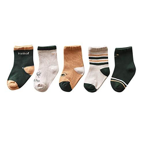 Baby Baumwolle Socks für Baby 0-5 Jahre alt Serria® 1 Paare Baby Socken - Unisex Stopper Socken Baby, rutschfeste Socken Baby, Babysocken Neugeborenes, Erstlingssöckchen
