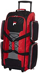 "Fila 32"" Large Lightweight Rolling Duffel Bag"