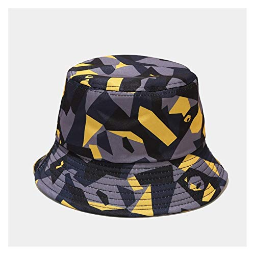 HWZZ Gorro Pescador Tinte Tinte Mariposa Fuego Nube Estampado Pescador Sombrero Hombres Y Mujeres Cubeta Sombrero Sombrero Sombrero Sol Sombrero Bucket Hat (Color : C6)