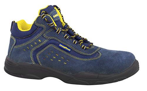Goodyear G138842C Botas (piel serraje), Azul, 36, Set de 2 Piezas