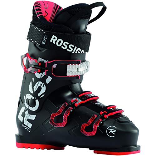 Rossignol Evo 70 Ski Boots Mens Sz 8.5 (26.5) Black/Khaki