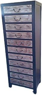Antique armoire à pharmacie Armoire Armoire de bureau Pharmacie Armoire Buffet commode commode armoire breite45x höhe150cm