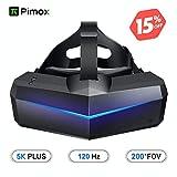 Pimax 5K Plus VR Casque de Réalité Virtuelle, Avec un Champ de Vision de 200°,...