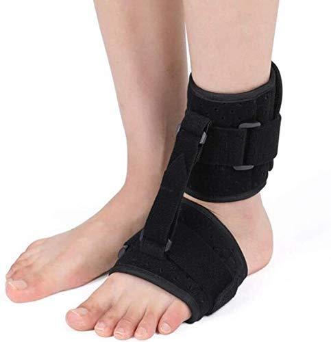 BGSFF Fußtropfenstütze, verstellbare Fußtropfenorthese Knöchelkorrekturstütze Unterstützung Tag/Nacht Rückenschienen Schutz für rechten oder linken Fallfuß 9.28