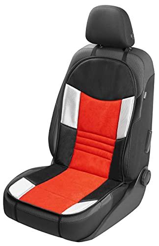 Walser Auto Sitzauflage, Autositzschoner Hunt, PKW Sitzschoner rot schwarz, atmungsaktiv 11667