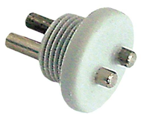 Meiko Leitwertelektrode für Spülmaschine mit Gewinde Befestigung mit Gewinde Einbau 17mm