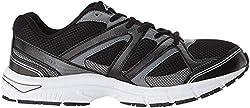 in budget affordable AviaAvi-Execute-II Men's Sneakers Black / Metallic Gray / Silver Chrome 10.54E US