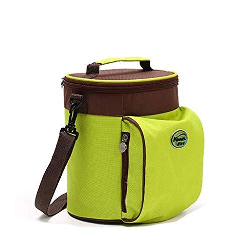 miwaimao Paquete de refrigeración bolsa térmica de almacenamiento bolso bolso de mensajero bolsa de almacenamiento frío bolsa de