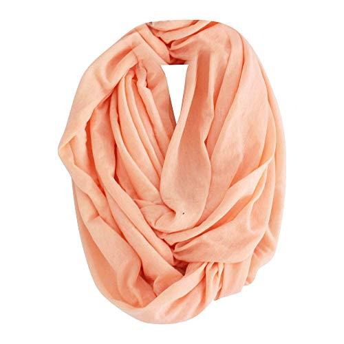 Einfarbiger Schal,Einfarbiger Winter Warmer SchalVielzahl Süßigkeiten Farbe Schal Kragen Baumwolle  Wickelschal Weiblich URIBAKY