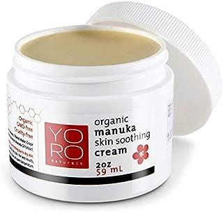 Organic Manuka Honey Baby Eczema Cream, Psoriasis Cream, Rosacea Cream, Dermatitis Cream | Gentle for Babies & Children, Creamy Balm Provides Instant Relief for Severe Dry Skin, 2oz
