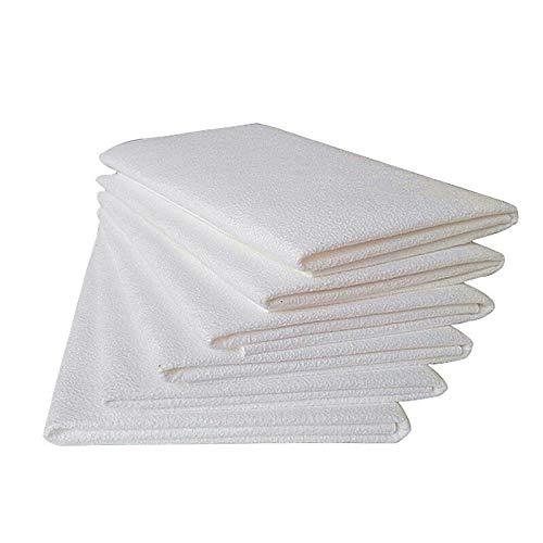 nobrand 45 * 50cm super saugfähiges Reinigungstuch Schwammtuch Artificial Chamois Suede Tuch Mikrofaser Trockentuch for Autowaschanlagen (Color : White)