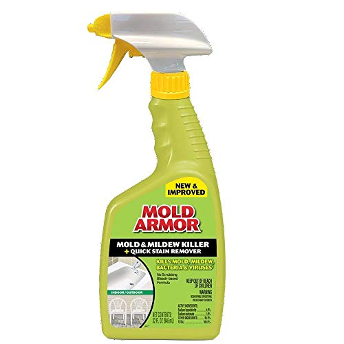 Home Armor FG502 Instant Mold and Mildew Stain Remover, Trigger Spray...