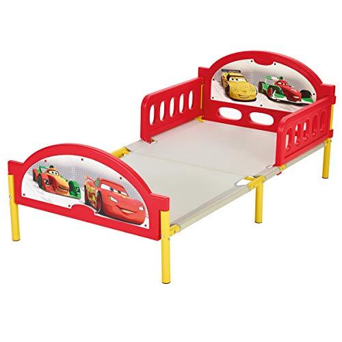 Unbekannt Disney Cars Toddler Bed Bett 140x70 cm Kinderbett Bett Kindermöbel Lightning McQueen Auto