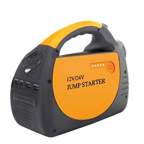 Best Price MrRong Portable Car Jump Starter 800A Peak 24V 12V with 30000mAh Battery Pack Emergency F...