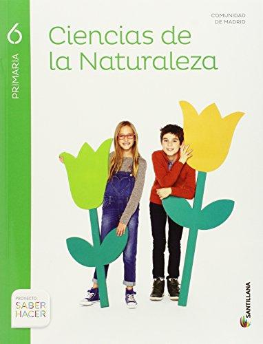 CIENCIAS DE LA NATURALEZA MADRID 6 PRIMARIA SANTILLANA - 9788468032030