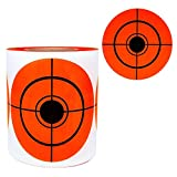 Remarkable Shooting Target Stickers-Self Adhesive Target for Shooting - Easy to See Bright Fluorescent Orange Shooting Targets 3' Inch (250 Pack) …