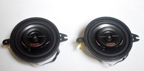 Macrom CF231, Custom Fit, Haut-parleurs intégrés 2 Voies, 3 ¼\