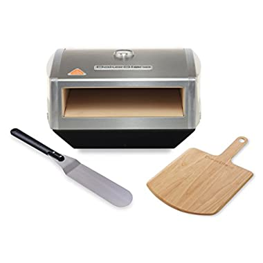 BakerStone Pizza Box, Gas Stove Top Oven (Stainless Steel)