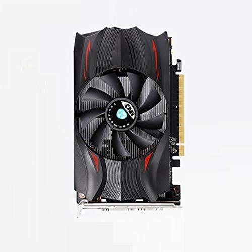 Tarjeta de gráficos de video de computadora - (GTX 1050 TI 4G DDR5 DVI-D DP HDMI de 128 bits) Tarjeta de gráficos de oficina de rendimiento ultra alta, Tarjeta de gráficos del juego, Frecuencia centra