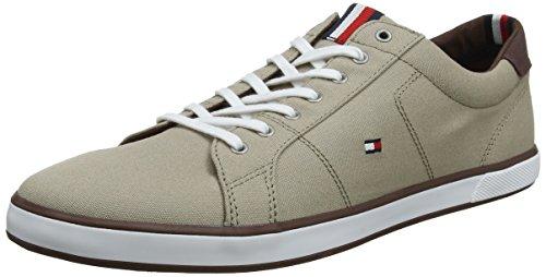 Tommy Hilfiger Herren Iconic Long LACE Sneaker, Beige (Cobblestone 068), 44 EU