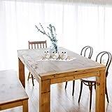 Relaxdays, beige-weiß Teelichthalter Set, Blattschale, Deko Sand, Kieselsteine, Kerzenhalter, stimmungsvolle Tischdeko, Standard - 2