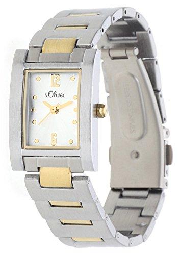 s.Oliver Damen-Armbanduhr Analog Quarz SO-15014-MQR