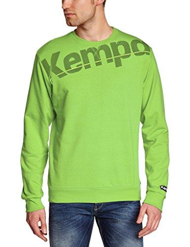 Kempa Core Jersey-Sudadera De Entrenamiento, Hombre, Verde Esperanza, XL