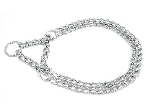 Dogs Stars Halskette mit 2 Reihen und Zugstopp für Hunde - Dressurhalsband - Allen Längen und Stärken