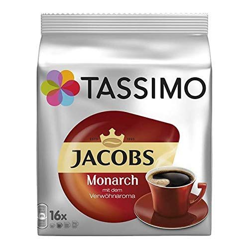 TASSIMO JACOBS Monarca x 1 Packung (16 Kapseln)