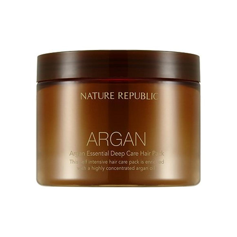 該当するポット魔法NATURE REPUBLIC Argan Essential Deep Care Hair Pack 470ml ネイチャーリパブリック アルガンエッセンシャルディープケアヘアパック 470ml [並行輸入品]