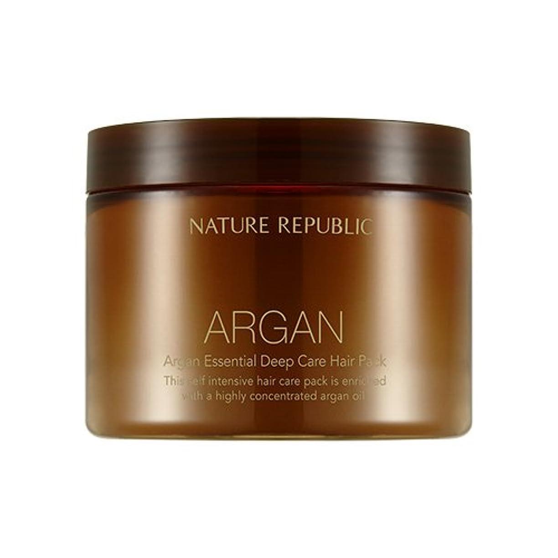 群集目覚める媒染剤NATURE REPUBLIC Argan Essential Deep Care Hair Pack 470ml ネイチャーリパブリック アルガンエッセンシャルディープケアヘアパック 470ml [並行輸入品]