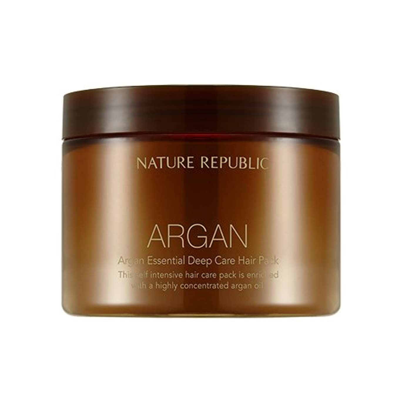 大事にする悲観的熟達したNATURE REPUBLIC Argan Essential Deep Care Hair Pack 470ml ネイチャーリパブリック アルガンエッセンシャルディープケアヘアパック 470ml [並行輸入品]