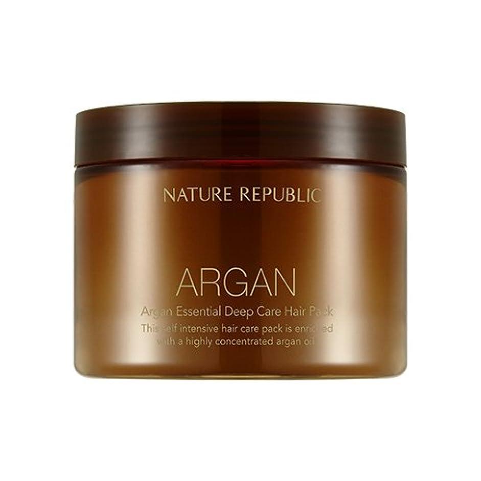 豚肉腫瘍発言するNATURE REPUBLIC Argan Essential Deep Care Hair Pack 470ml ネイチャーリパブリック アルガンエッセンシャルディープケアヘアパック 470ml [並行輸入品]