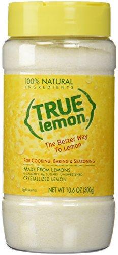 TRUE CITRUS Lemon Large Shaker, 10.6 Ounce