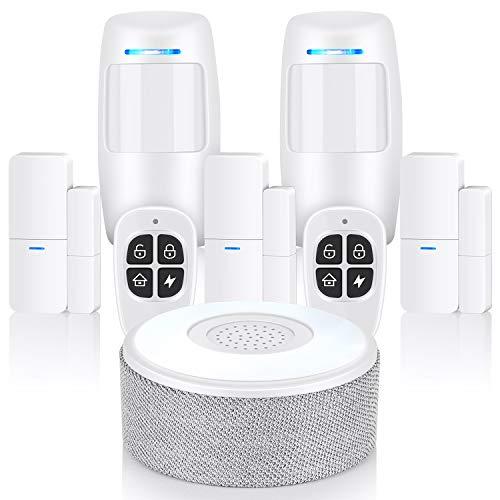 Sistema de alarma, sistema de seguridad Wifi Thustand Control APP para el hogar, la oficina