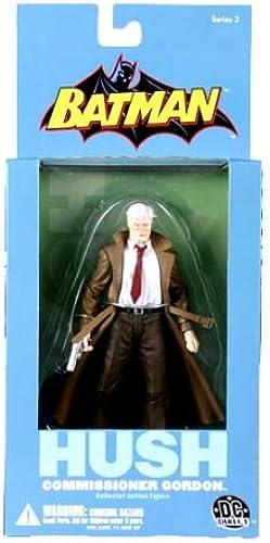 calidad de primera clase DC Direct Batman silencio comisionado Gordon coleccionistas figura de de de acción  ganancia cero
