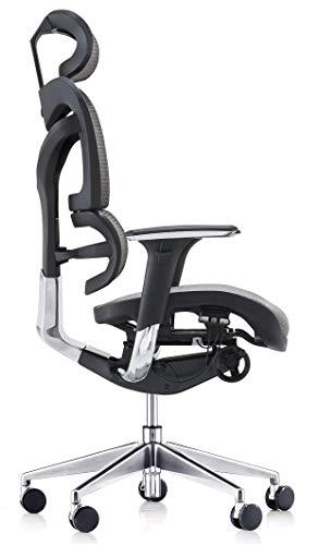 Silla ergonómica de oficina Modelo Venezia. Cuida de tu cuello, espalda y lumbares.