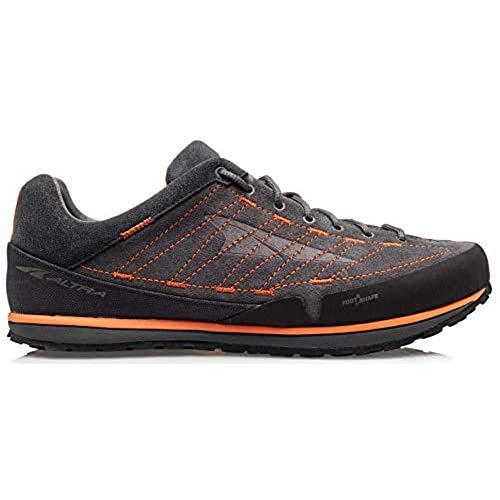 ALTRA Men's ALM1965F Grafton Outdoor Running Shoe, Black/Orange - 13 M US
