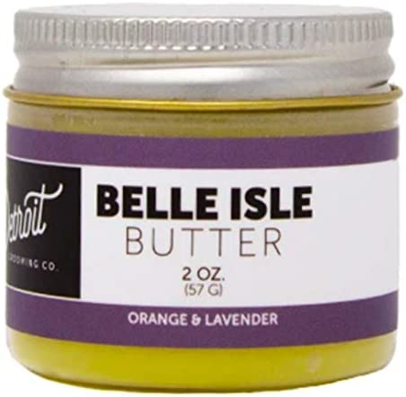 Detroit Grooming Company Beard Butter 2 oz Belle Isle All Natural Beard Balm product image