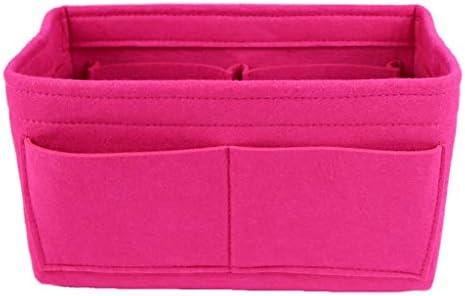 Lmeison Felt Purse Organizer Bag Tote Organizer Multi Pocket Insert Bag In Bag Fit Tote Handbag product image