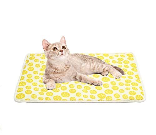 FANDE Cojines para Mascotas, Almohadilla para Perro, Alfombrilla de refrigeración para Mascotas, Cómoda Almohadilla para Perros pequeños, Mascotas, Gatos