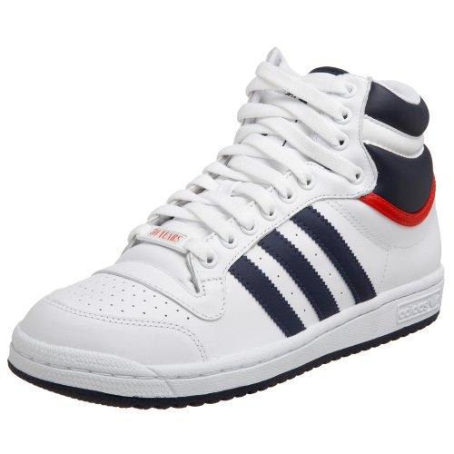 Adidas Top Ten High G09836, Baskets Mode Homme, Blanc, 40 EU