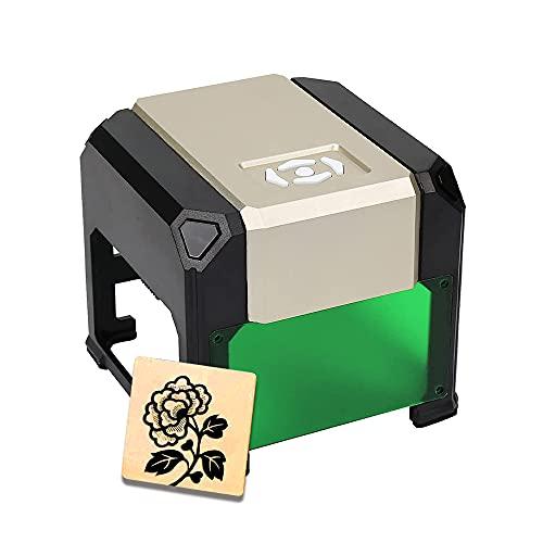 WAINLUX grabador láser, máquina de grabado láser de, control de aplicaciones, grabador láser portátil, cortador, impresora para bricolaje, marcado de logotipos(oro)